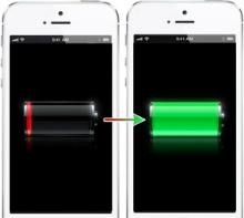 Bedre batteritid iPhone